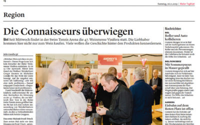 Bieler Tagblatt «Die Connaisseurs überwiegen»